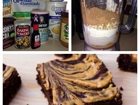 low card peanut butter brownies